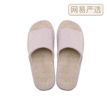 网易严选 清风 自然棉麻家居拖鞋