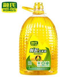 融氏 【非转基因】鲜胚玉米油  5L/桶【新鲜物理压榨、油品清香透亮】