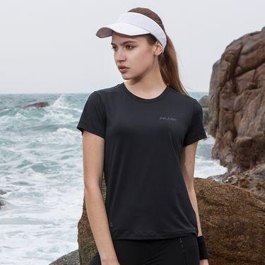 伯希和 PELLIOT户外快干衣 男女夏季跑步吸湿排汗T恤健身短袖运动t恤