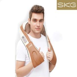 SKG 无线揉捏加热按摩披肩颈部肩部颈椎按摩颈肩多功能全身按摩器4079
