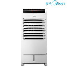 美的 空调扇 冷暖两用移动空调扇 家用暖风机取暖器遥控蒸发式冷风扇 白色 AD120-15C
