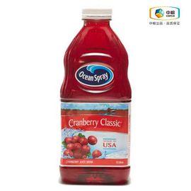 Ocean Spray/优鲜沛  Ocean Spray优鲜沛蔓越莓汁饮料(经典原味)1.5L(美国进口 瓶)