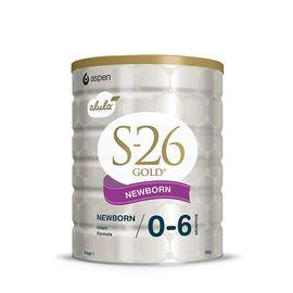 惠氏 (新版)新西兰版S26金装婴幼儿奶粉1段900g(0-6个月)澳洲进口 物美价廉 美易在线