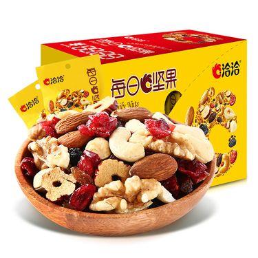 洽洽  每日坚果26g*15袋 【混合坚果水果蜜饯干盒装】坚果零食