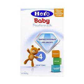 美素/HeroBaby  婴儿奶粉 4段  700g  荷兰进口  有助脑部和神经系统发育  CST购