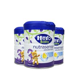 美素/HeroBaby  白金版婴儿奶粉3段 700g 荷兰进口  有助脑部和神经系统发育  CST购