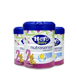 美素/HeroBaby 白金版婴儿奶粉 2段 800g  荷兰进口  有助脑部和神经系统发育  CST购