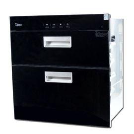 美的MIDEA 美的 86L二星级高温独立双模嵌入式消毒柜碗柜MXV-ZLT-Q9033-GD 黑色 消毒柜