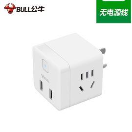 公牛 (BULL)无线小魔方USB插座插线板/ 插排/接线板/拖线板—U9B122