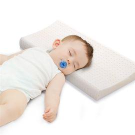 眠趣 儿童枕头2-6岁宝宝幼儿园全棉宝宝可水洗乳胶定型长枕