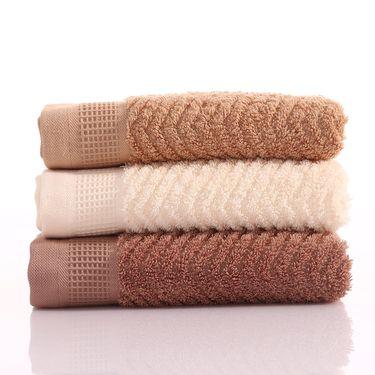卡佩利丝 长绒棉蜂窝毛巾 34*78 155克 多色可选
