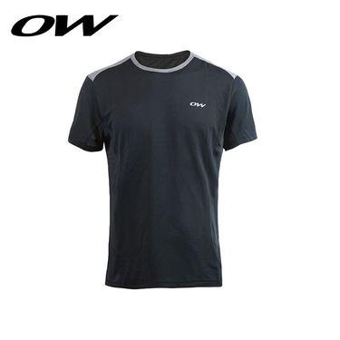 ONE WAY 运动速干T恤男 吸湿排汗跑步短袖 9517230110