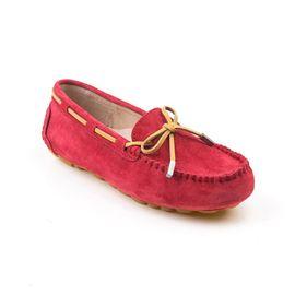 Ozwear UGG OB150 雪地靴品牌经典款女士羊皮豆豆鞋内置气垫 澳洲进口 IVY