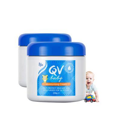 Qv Ego QV婴儿角鲨烷滋润保湿霜250g 多瓶装澳洲进口 IVY