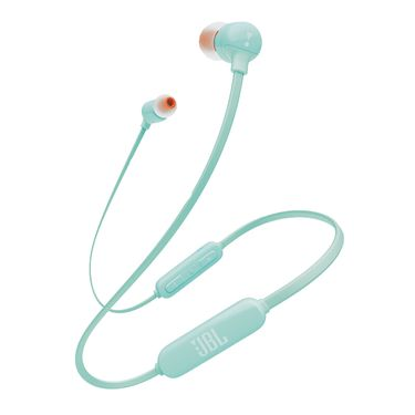 JBL T110BT 无线蓝牙运动耳机 入耳式手机耳麦 动圈耳塞