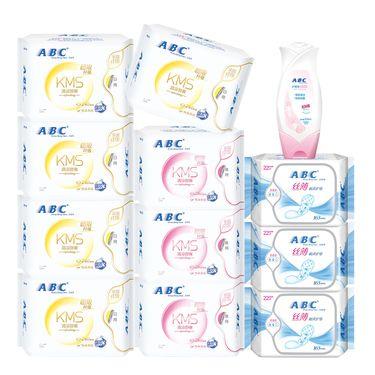 ABC 卫生巾组合装特惠K11+K12+K21+U01(5+3+3+1)