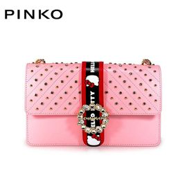 PINKO /品高 女士单肩包 1P214G Y4HC Love Hello Kitty