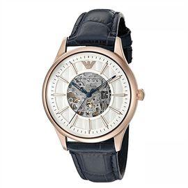 EMPORIO ARMANI 阿玛尼 手表皮质表带男士休闲时尚机械腕表AR1947