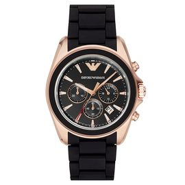 EMPORIO ARMANI 阿玛尼 手表时尚休闲简约石英男士腕表AR6066