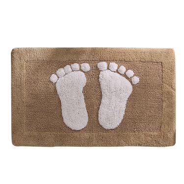 奇居良品 可莉脚丫系列全棉雪尼尔地垫 45*70cm