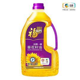 福临门 压榨葵花籽油 非转基因 健康安心食用油 (瓶装 1.8L)