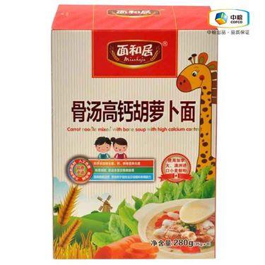 中粮 面和居骨汤高钙胡萝卜面(盒装 280g)
