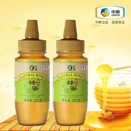 中粮 山萃蜂蜜250g*2瓶 优质蜂源 无添加 专业瓶口设计