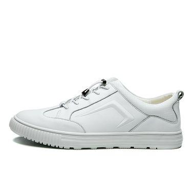 富贵鸟  春季百搭运动休闲小白鞋男休闲鞋板鞋白色 A842080