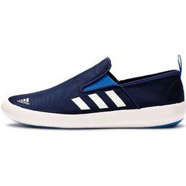 阿迪达斯 Adidas夏季新款男子户外低帮帆布鞋透气懒人鞋休闲鞋 AQ5201