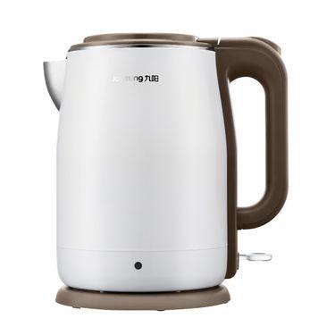 九阳 电热水壶食品级304不锈钢双层防烫无缝内胆1.5L K15-F5 白色