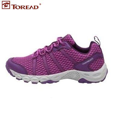 探路者 (TOREAD) 徒步鞋女18春夏季户外轻薄透气鞋 KFAG82033