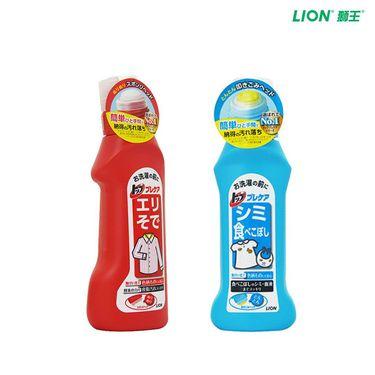 狮王 TOP专效去渍净 去油去污渍衣物洗衣液160ml+洁白衣领净洗领口袖口洗衣液250ml