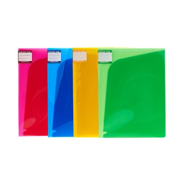 KOKUYO /国誉6页文件保护套WCN-TFB2610COLOR TAG 文件保护套资料册纸张试卷收纳袋多彩分类文件夹A4