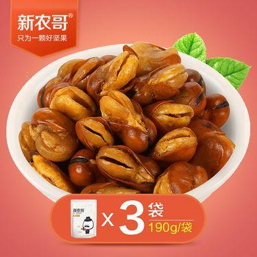 新农哥 兰花豆190g*3袋