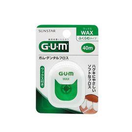 GUM 全仕康 含蜡牙线 40m