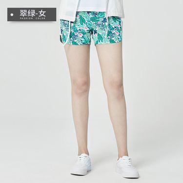 稻草人 Mexican户外夏季沙滩裤女速干海边度假宽松温泉短裤透气轻薄五分裤 23835