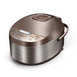 美的 【高性价比】电饭煲 拉丝不锈钢机身 4L大容量 一键柴火饭 MB-WFD4016