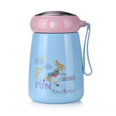 比得兔 保温杯女便携水杯不锈钢水壶创意杯子迷你可爱大肚杯PR-T773