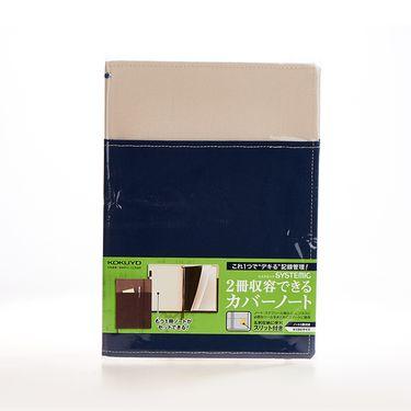 KOKUYO /国誉进口笔记本外套NO-653A-1(黑色)封面册收纳型工作笔记本会议手册商务本子记录本
