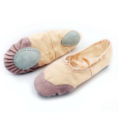 Glueckind 成人儿童男女舞蹈鞋软底练功鞋猫爪鞋瑜伽鞋芭蕾舞鞋 赠收纳袋 颜色随机