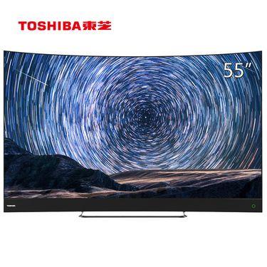 TOSHIBA/东芝 55U9700C 55英寸 曲面4K超高清AI人工智能量子点电视 55英寸