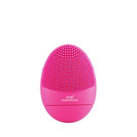 金稻 洁面仪电动充电毛孔清洁器硅胶Q版洗脸仪超声波震动洗脸美容仪KD308B