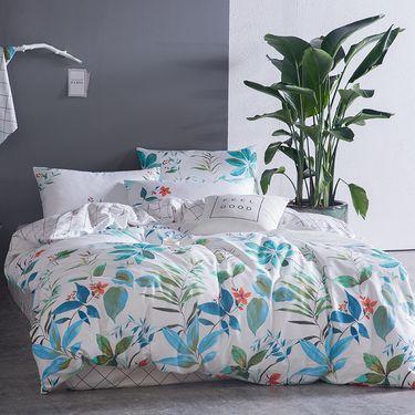 艾桐 纯棉活性印花四件套 韩式小清晰系列床品套件