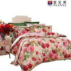 富安娜 床单六件套-春风沉醉1.8米
