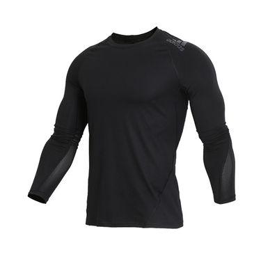 阿迪达斯 Adidas男款2019新款运动紧身衣训练长袖T恤CF7267