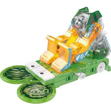 奥迪双钻 爆裂飞车3兽神合体变形玩具 合体夺晶变形-冰封雪684202