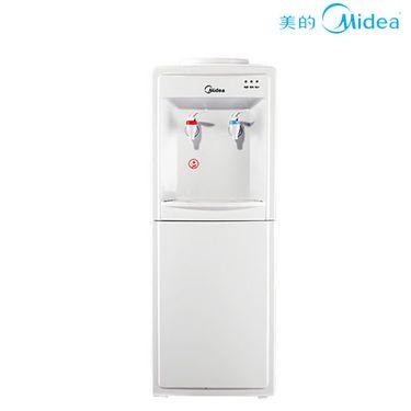美的 饮水机 立式冰热迷你全自动家用办公室用饮水机 MYD718S-X 白色