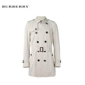 BURBERRY/巴宝莉  新款男士风衣 3983340   石色 长款 洲际速买