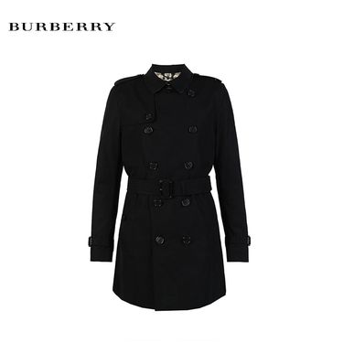 BURBERRY/巴宝莉 Burberry/博柏利  新款男士风衣 3983338   黑色 长款 洲际速买