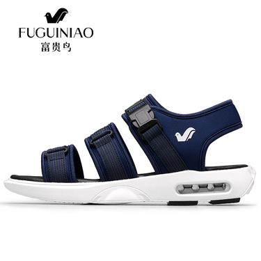 富贵鸟 凉鞋男夏防滑夏季凉鞋男士透气厚底沙滩鞋